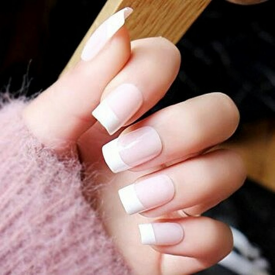 12 Amazing French Tip Acrylic Nail Designs Every Woman ...