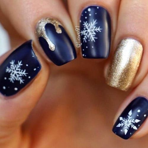 30+ Beautiful Blue Acrylic Nail Designs You Must Try Out