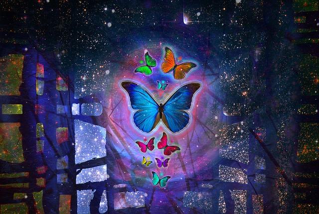 dead butterfly symbolism